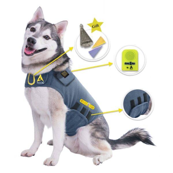 Thunder Vest for Dogs - Klee kai