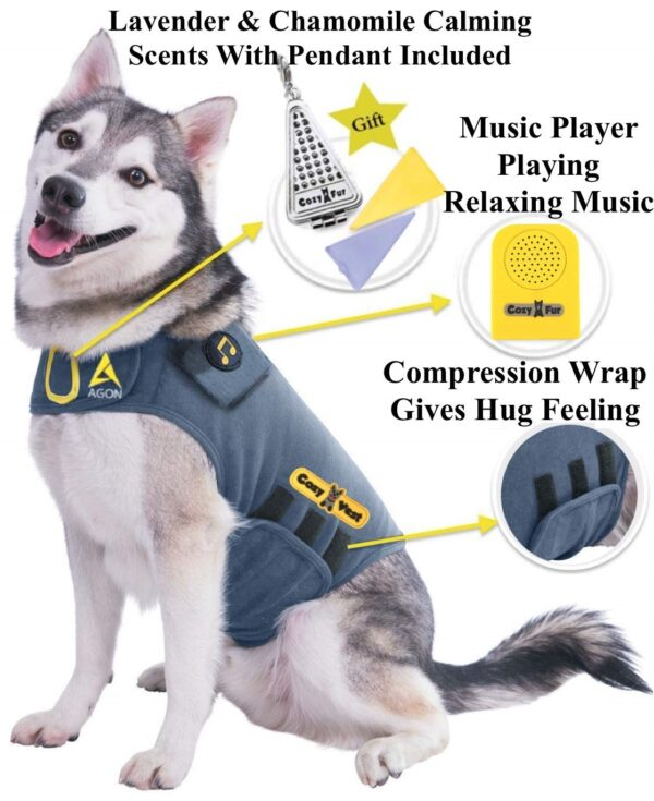 Thunder Vest for Dogs - CozyVest Product Main