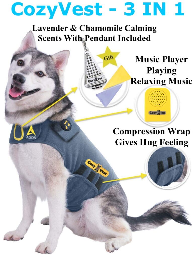 Anxiety in Dogs - CozyVest Dog Product
