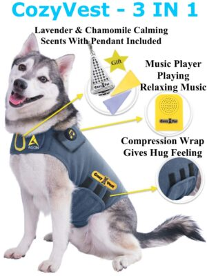 Dog Anxiety Vest - CozyVest Dog Product