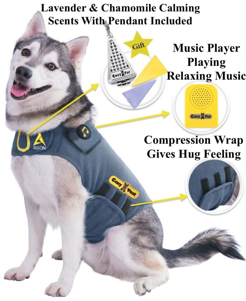 Puppy Separation Anxiety - CozyVest Product Main Web Picture